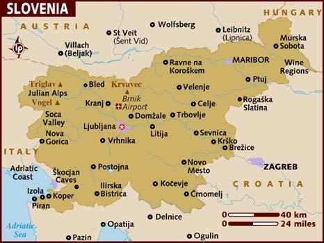 De Ljubljana à Bled