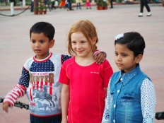Tour du monde en famille - Inde Delhi
