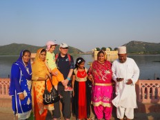 Tour du monde en famille - Inde - Jaipur - Palais de l'eau