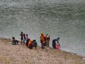 Lac au pied du fort Amber