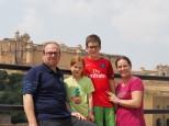 Arrivée sur Jaipur