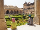pavillon d'accueil et jardins