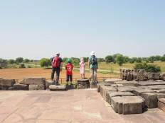 Sur le temple Harsat Mata