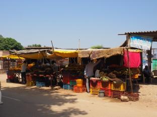 Vente de légumes et fruits