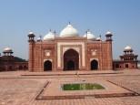 Agra Taj Mahal - l'un des 2 palais bordant l'édifice principal