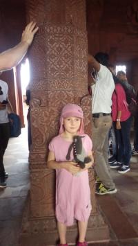 Tour du monde en famille - Inde Fatehpur Sikri