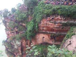 Escalier du Bouddha géant - Leshan