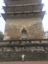 Pagode du parc du bouddha géant - Leshan