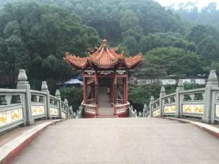 Pont du bouddha génat - Leshan