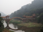Pont Leshan - Bouddha géant