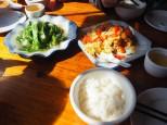 Repas classique et simple chinois