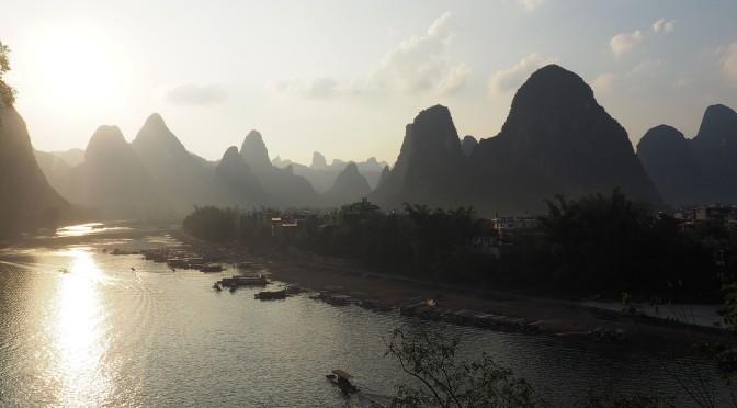 Xingping, au pied des monts karstiques