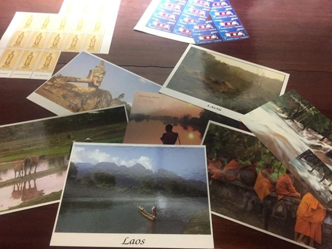 Laos : Les cartes sont en route !