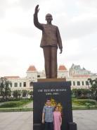 Ho Chi Minh Ville - Statue du leader Ho Chi Minh