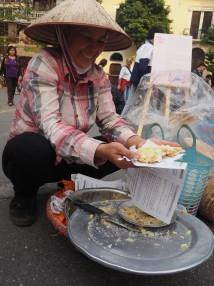 Hanoï - Dessert bizarre à la noix de coco