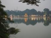 Hanoï - Lac Hoan Kiem et Tour de la Tortue