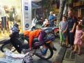 Hanoï - un dormeur dans les 36 rues
