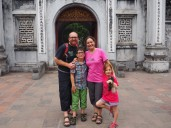 Hanoï - Temple de la littérature et les DecloSacàDos