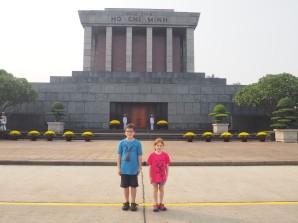 Hanoï - Mausolé Ho Chi Minh