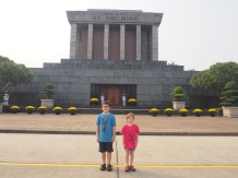Hanoî - Mausolé Ho Chi Minh