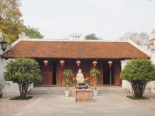 Hanoï - Temple - One pilar pagoda