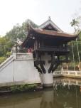 Hanoï - One Pilar Pagoda