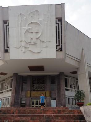 Hanoï - Thomas & le musée Ho Chi Minh
