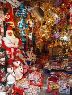 Hanoï - Commerce des 36 rues à Noël