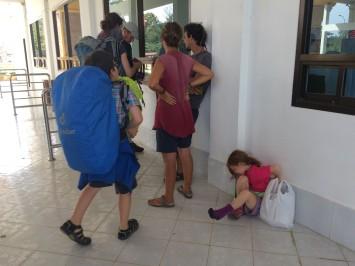 Le poste frontière laotien