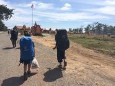 Frontière terrestre Laos - Cambodge