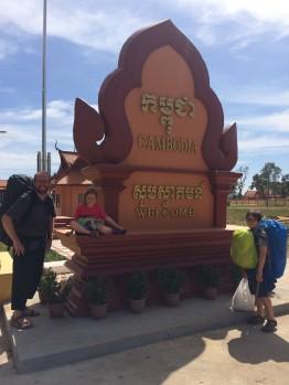 Poste frontière cambodgien