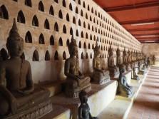 Vientiane - Vat Si Saket & Bouddhas dans le cloitre