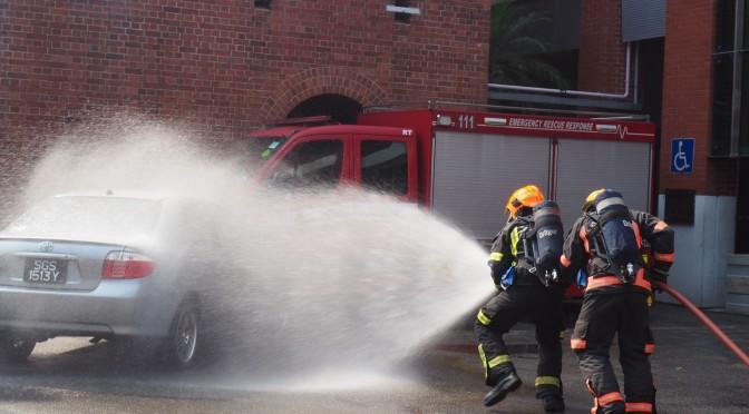 Je veux être pompier !