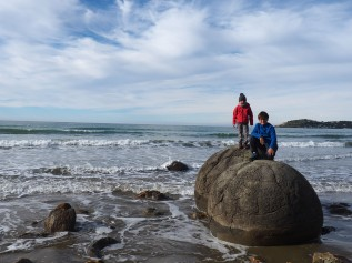 Nouvelle-Zélande Moeaki Boulders