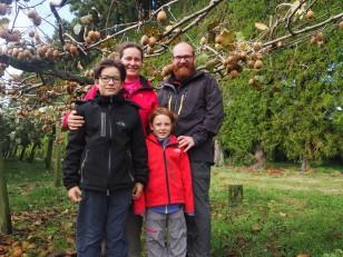 Nouvelle-Zélande - Kiwi Fruit Farm