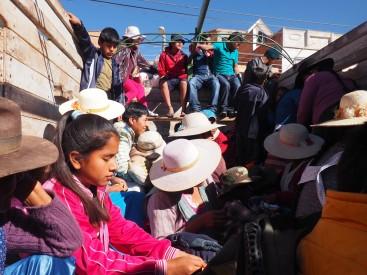 Bolivie : Cratère de Maragua - région de Sucre