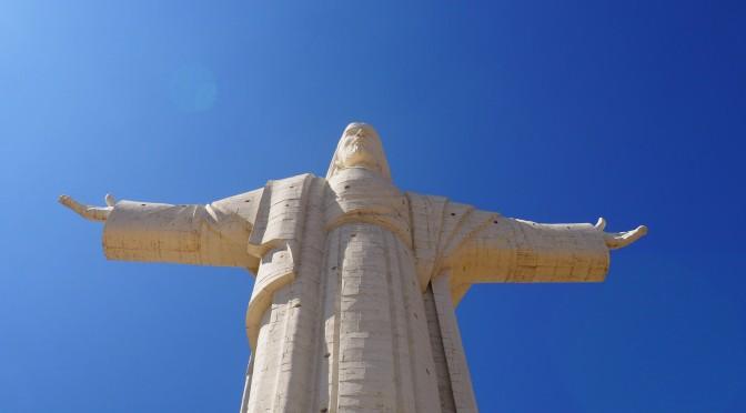 Au pied du Christ rédempteur bolivien
